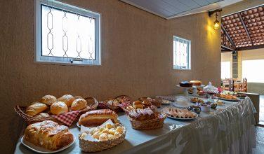 Café da Manhã em Brotas